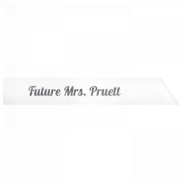 Future Mrs. Pruett