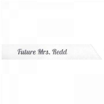 Future Mrs. Redd