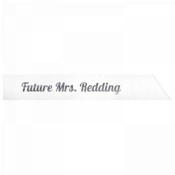 Future Mrs. Redding