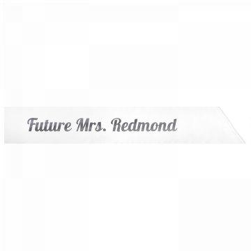 Future Mrs. Redmond