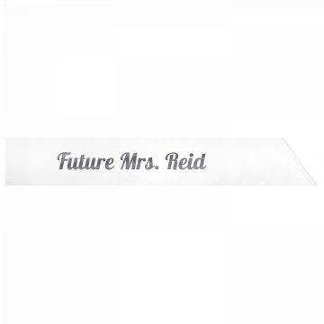 Future Mrs. Reid