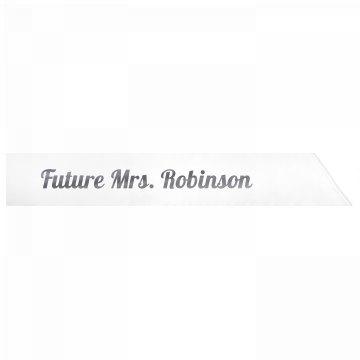 Future Mrs. Robinson