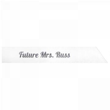 Future Mrs. Russ