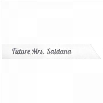 Future Mrs. Saldana