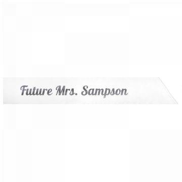 Future Mrs. Sampson