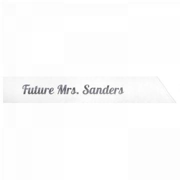 Future Mrs. Sanders
