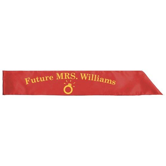 Future Mrs Sash