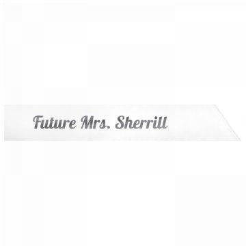 Future Mrs. Sherrill
