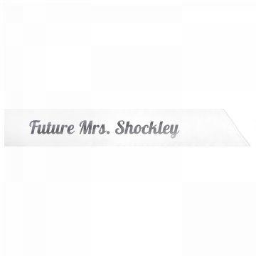 Future Mrs. Shockley