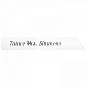 Future Mrs. Simmons