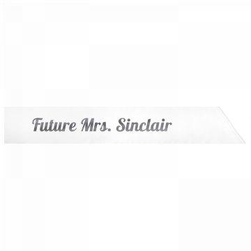 Future Mrs. Sinclair