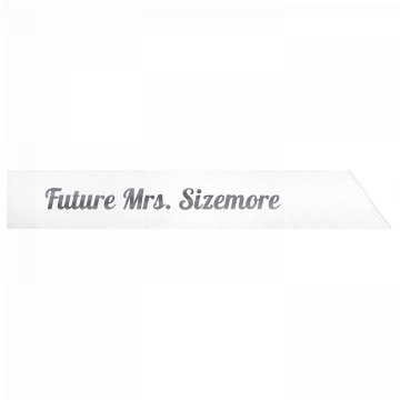 Future Mrs. Sizemore