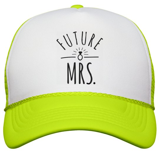Future Mrs Snap Back Hat