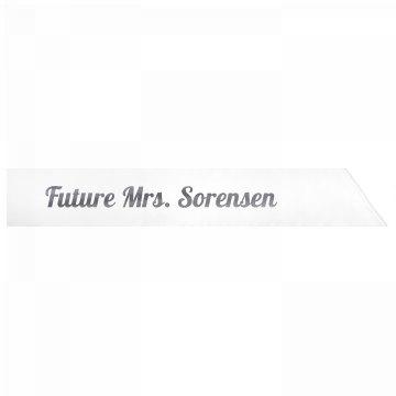 Future Mrs. Sorensen