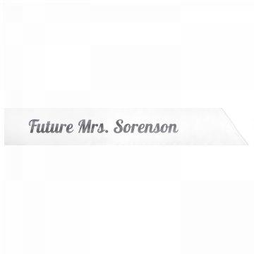 Future Mrs. Sorenson