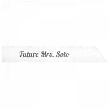 Future Mrs. Soto