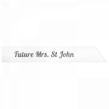 Future Mrs. St John