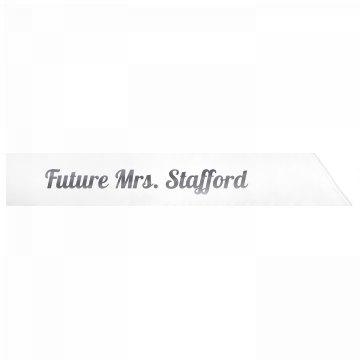 Future Mrs. Stafford