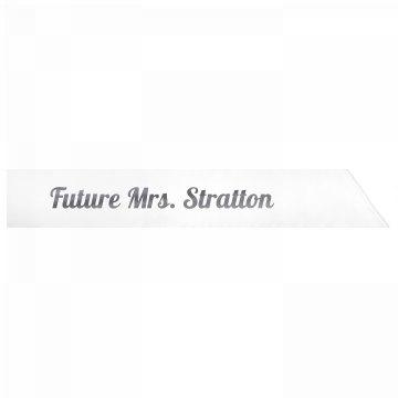Future Mrs. Stratton