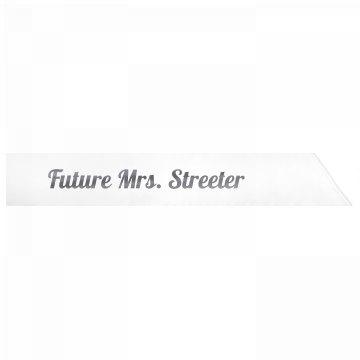 Future Mrs. Streeter