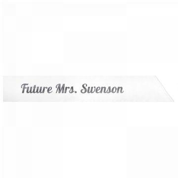 Future Mrs. Swenson
