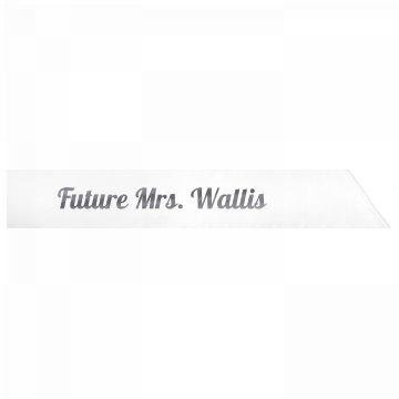 Future Mrs. Wallis