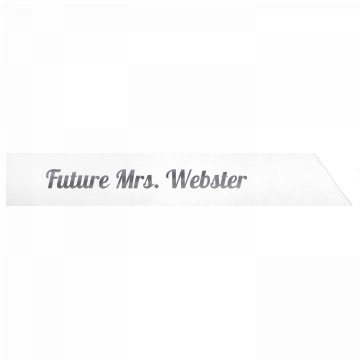 Future Mrs. Webster