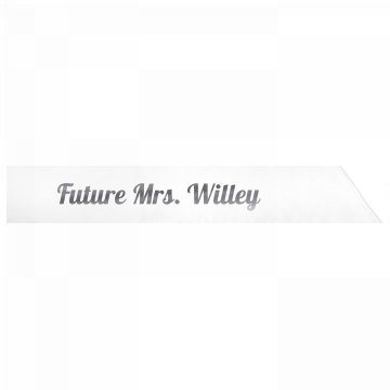 Future Mrs. Willey