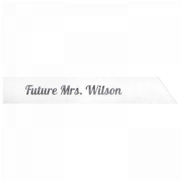 Future Mrs. Wilson