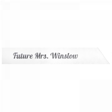 Future Mrs. Winslow