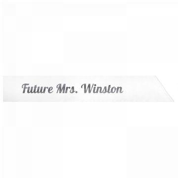 Future Mrs. Winston