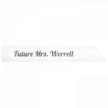 Future Mrs. Worrell