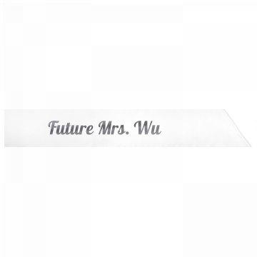 Future Mrs. Wu