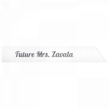 Future Mrs. Zavala