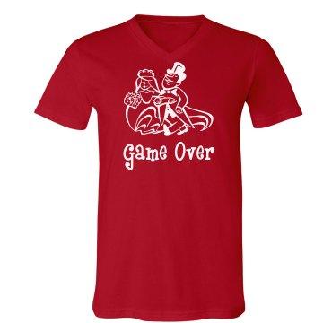 Game Over Bachelor Tshirt