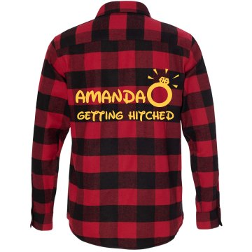 Getting Hitched Flannel Shirt