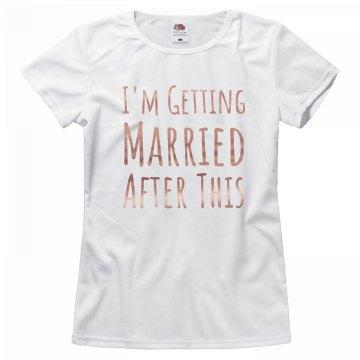 Getting Married Copper Metallic