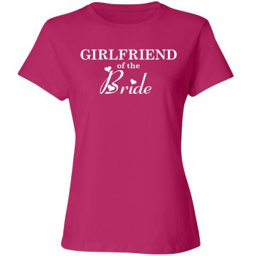 Girlfriend of the bride