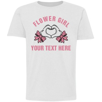Glove Heart Hands Cute Flower Girl Gift
