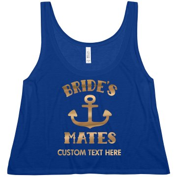 Gold Anchor Bride's Mates