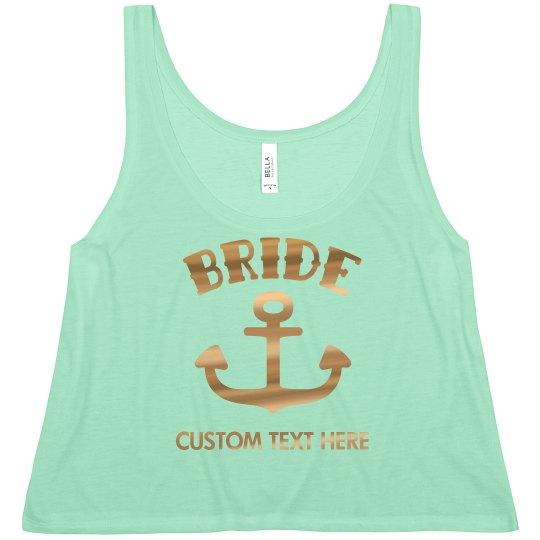 Gold Bride Anchor Crop