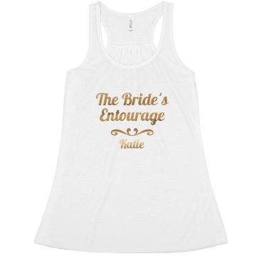 Gold Bride's Entourage