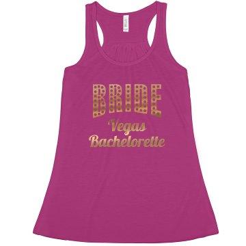 Gold Marquee Vegas Bachelorette