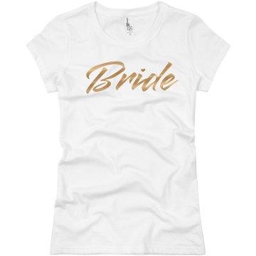 Gold Metallic Bride