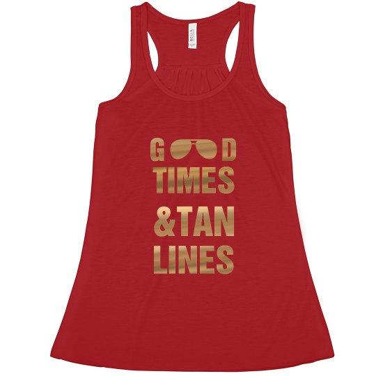 Good Times and Tan Lines Bachelorette