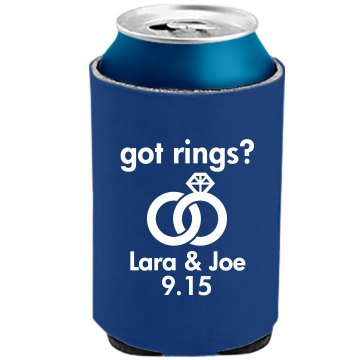 Got Rings Can Cooler