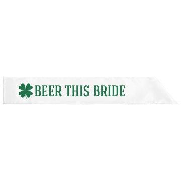 Green Beer This Irish Bride