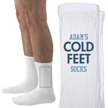 Groom Adam's Cold Feet