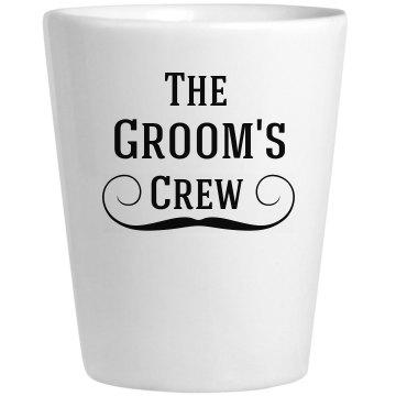 Groom Crew Shots