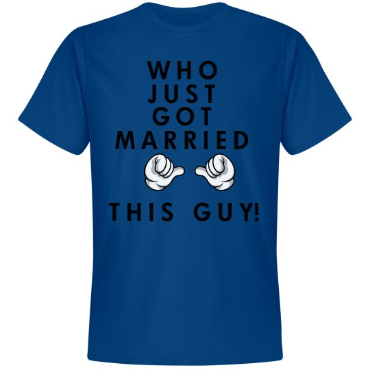 Groom Got Married Tee